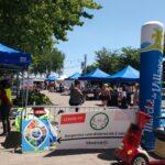 marché public du village covid